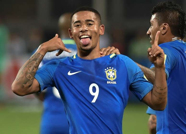 Gabriel Jesus has revealed the reason behind his move to Manchester City. EFE