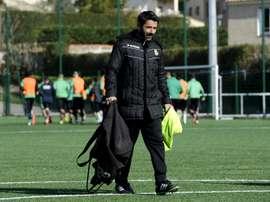 Nicolas Usaï, alors entraîneur de Marseille Consola. AFP