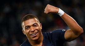 Mbappé demonstra vontade de superar Messi. EFE