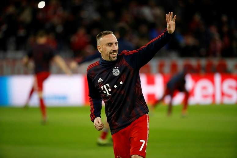 Ribery rejected offers from other big European clubs in 2009. AFP