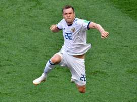 Dzyuba wants his fans to know that nothing can stop him on his World Cup journey. AFP