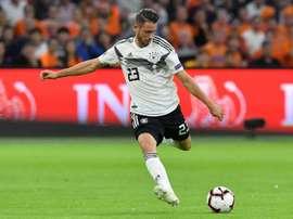 Mark Uth no pudo acudir con Alemania por su lesión. AFP
