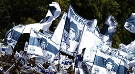 Le stade Unico de La Plata renommé Diego Armando Maradona. AFP