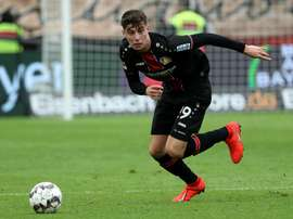 The Leverkusen sporting director doesn't know what will happen with Havertz. AFP
