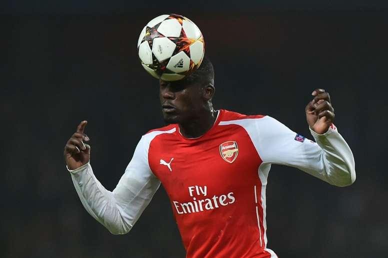 Toulouse sign ex-Arsenal Sanogo. AFP