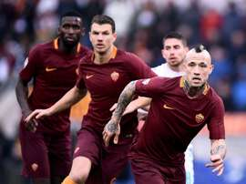 Inter pode avançar para Nainggolan e Rudiger. AFP