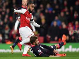 WBA e Arsenal empataram em 1-1. AFP