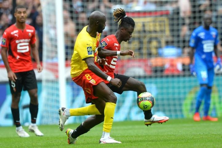 Rennes et Lens se quittent dos à dos. AFP