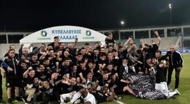 Les demi-finales de la Coupe de Grèce reportées. AFP