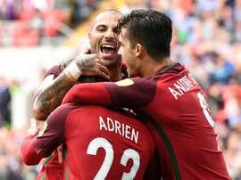 Os torcedores podem agora votar no melhor gol. AFP