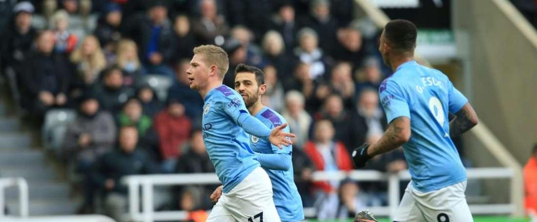 City empata e dificulta busca pelo Liverpool. AFP