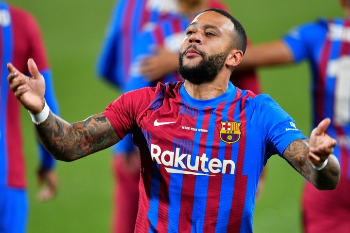 Barcelona will be able to register Memphis Depay and Eric Garcia. AFP