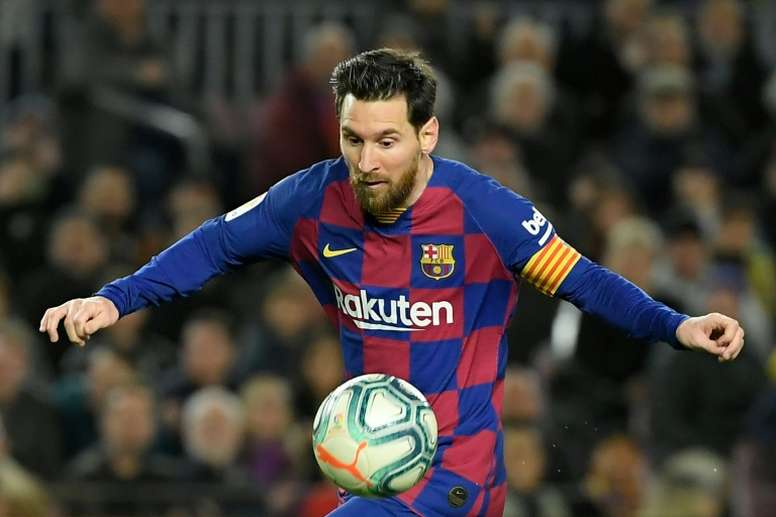 Font spoke about Messi's role at Barca if he gets elected. AFP