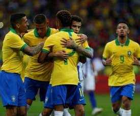 Thiago Silva says Coutinho is happy when he plays for Brazil unlike at Barca. AFP