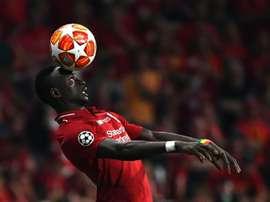 Sadio Mané sacré meilleur joueur du mois de novembre en Premier League. AFP