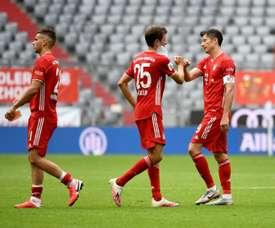 El Bayern cerró la temporada con su victoria número 26. AFP/Archivo