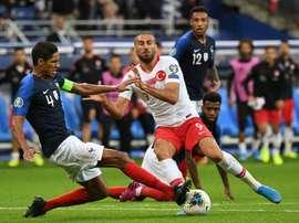 La France et la Turquie qualifiées pour l'Euro-2020. AFP