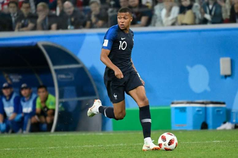 Mbappe is focussed on his teams success in the Russia World Cup. AFP