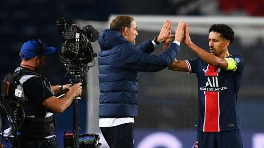 PSG have to beat Leipzig. AFP