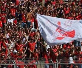 El Nimes lleva más de siete horas sin celebrar goles. AFP/Archivo