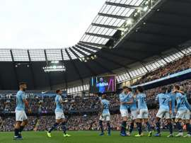 Manchester City are the subject of an alleged FIFA probe. AFP