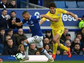 Richarlison ne quittera pas Everton. AFP