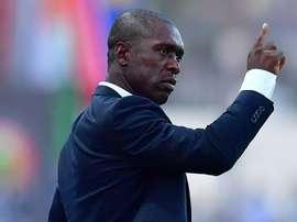 Clarence Seedorf limogé du poste de sélectionneur du Cameroun. AFP