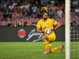 Juventus are interested in signing AC Milan's Donnarumma in the future. AFP
