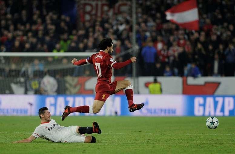 Liverpool veut sa place en Ligue des champions. AFP