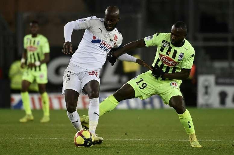 Les compos probables du match de Ligue 1 entre Angers et Amiens. AFP