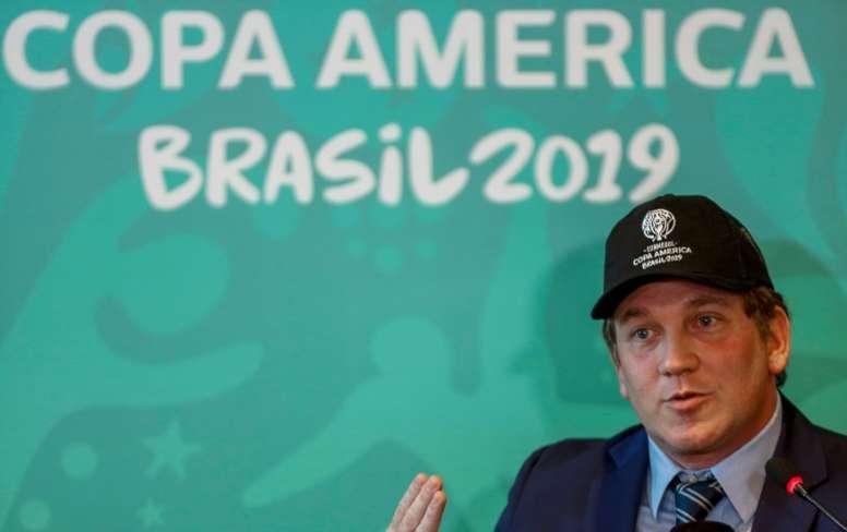 Le Qatar et l'Australie seront invités à la Copa América 2020. AFP
