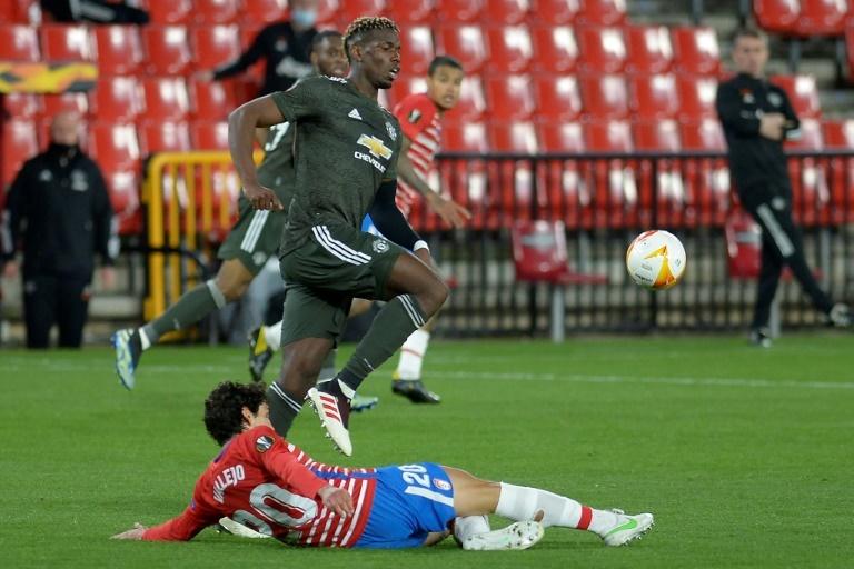 Granada-Manchester United, ida de cuartos de la Europa League