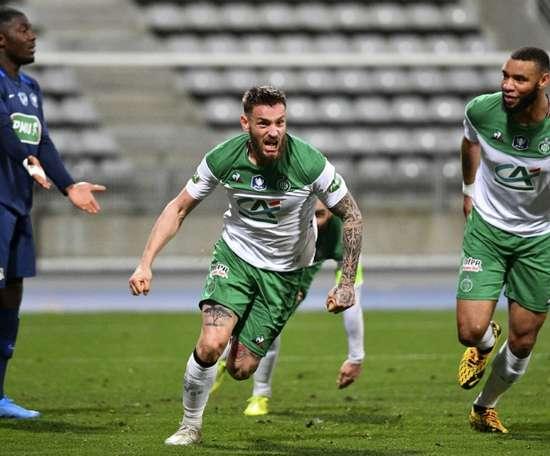 Debuchy en colère après la défaite à Metz. AFP