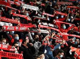 L'UEFA ouvre une procédure disciplinaire contre Rennes. AFP
