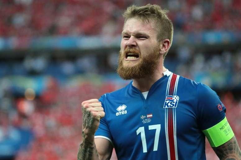 Gunnarsson confía en vencer a Argentina. AFP