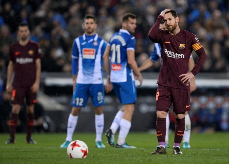 Espagne/Coupe du Roi: le Barça demi-finaliste et le baptême de Coutinho
