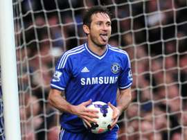 Lampard made 640 Chelsea appearances. AFP
