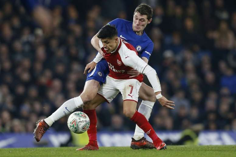 Arsenal held on for a draw. AFP