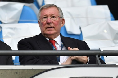 Ferguson kept his players on a tight leash. AFP