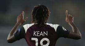 Carlo Ancelotti prévient le PSG pour Kean. AFP