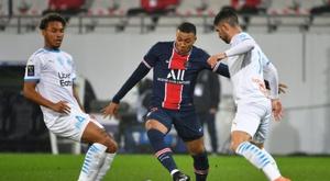 Kylian Mbappé, um dos artilheiros da Ligue 1. AFP