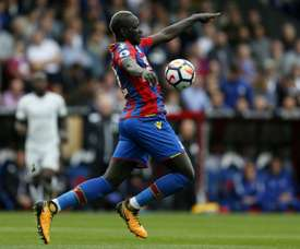 Sakho cost Palace the points at the end of the game. AFP