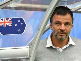 Le sélectionneur anglais de la Nouvelle-Zélande, Anthony Hudson. AFP