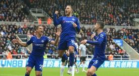 Hazard serait proche de prolonger à Chelsea. AFP