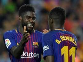El Barça sigue buscando al candidato ideal. AFP
