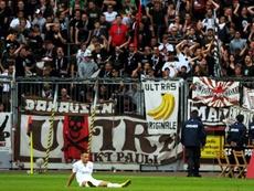 Deniz Naki, alors joueur du club allemand du FC St. Pauli. AFP