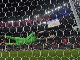 Edinson Cavani pendant le Copa América à Rio de Janeiro le 24/06/19. AFP