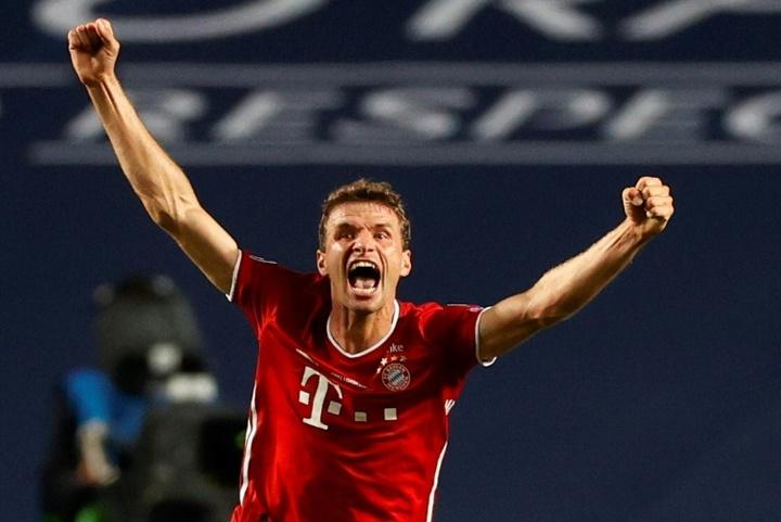 Müller reveló que estuvo cerca de salir del Bayern. AFP