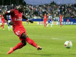 Barcelona desmentiu o interesse em Aurier. AFP