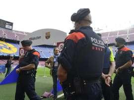 Espagne: 3.000 agents mobilisés pour la sécurité du Clasico Barça-Real. AFP